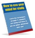 How to use your mind for study Private Label Rights