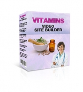 Vitamins Video Site Builder Private Label Rights