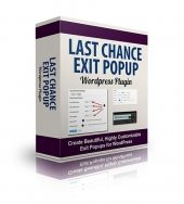 Last Chance Exit PopUp Private Label Rights