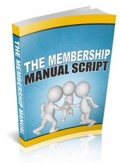The Membership Manual 2014 Private Label Rights
