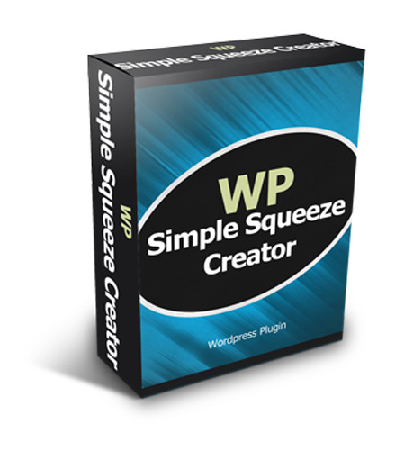 WP Simple Squeeze Creator