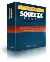 Easy Mobile Squeeze Pages Private Label Rights