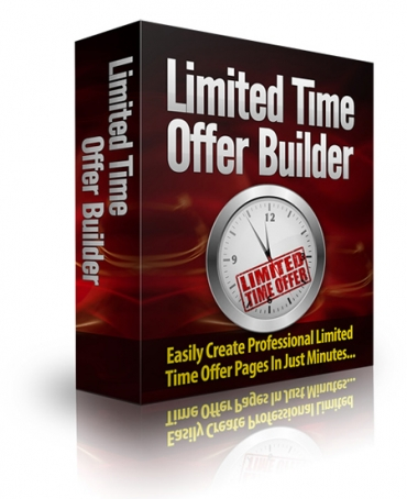 Limited Time Offer Builder Software