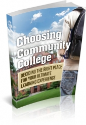 Choosing Community College Private Label Rights