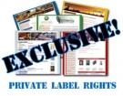 PLR Special Offer : 4 Brand New E-Books + Bonus Private Label Rights