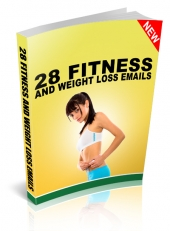 28 Fitness and Weight Loss Emails Private Label Rights