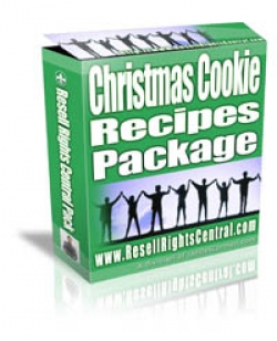 Christmas Cookie Recipes Package