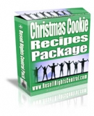 Christmas Cookie Recipes Package Private Label Rights