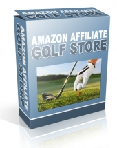 Amazon Affiliate Golf Store Private Label Rights