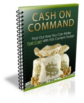 Cash on Command Private Label Rights
