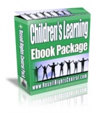 Children's Learning Ebook Package Private Label Rights