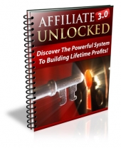 Affiliate Marketing 3.0 Unlocked Private Label Rights
