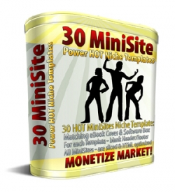 30 MiniSite Templates