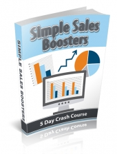 Simple Sales Boosters eCourse Private Label Rights