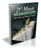 20 Minute Memberships Private Label Rights
