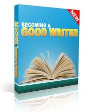 Become a Good Writer Private Label Rights