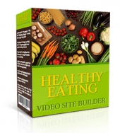 Healthy Eating Video Site Builder Private Label Rights