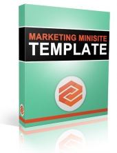 New Marketing Minisite Template 2014 Private Label Rights