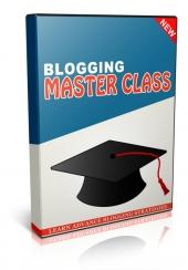 Blogging Master Class Private Label Rights
