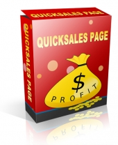 QuickSales Page Private Label Rights
