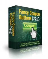 Fancy Coupon Buttons Pro Private Label Rights