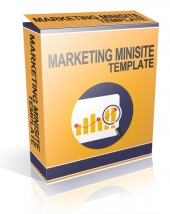 The Marketing Minisite Template Private Label Rights