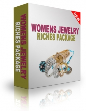 Womens Jewelry Riches Package Private Label Rights
