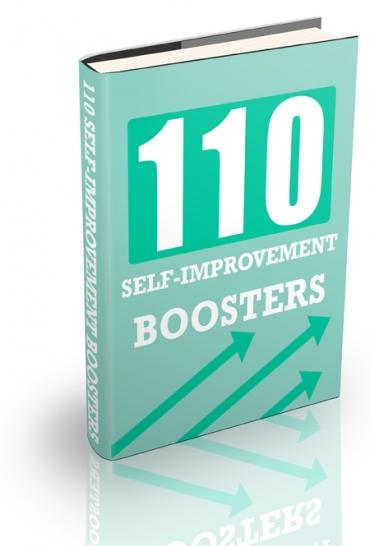 110 Self-Improvement Boosters