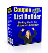 Coupon List Builder Private Label Rights