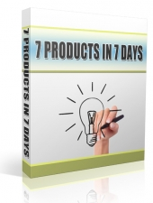 7 Products In 7 Days Private Label Rights