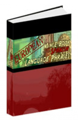 European Mini E-Book Spanish Language Phrases