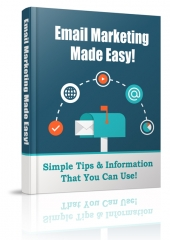 Email Marketing Made Easy Private Label Rights