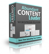 Abundant Content Loader Plugin Private Label Rights