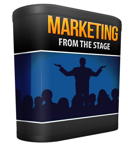 Marketing From The Stage