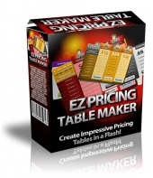 EZ Pricing Table Maker Private Label Rights