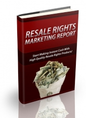 Resale Rights Marketing Report Private Label Rights
