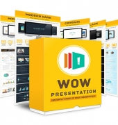 Wow Presentation Theme Bundle Package Private Label Rights