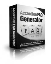 Accordion FAQ Generator Private Label Rights