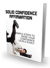 Solid Confidence Affirmation Private Label Rights
