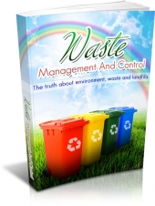 Waste Management And Control Private Label Rights