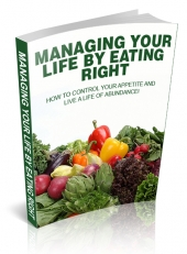 Managing Your Life By Eating Right Private Label Rights
