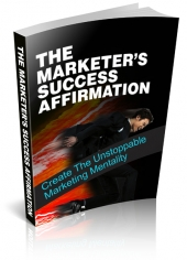 The Marketers Success Affirmation Private Label Rights