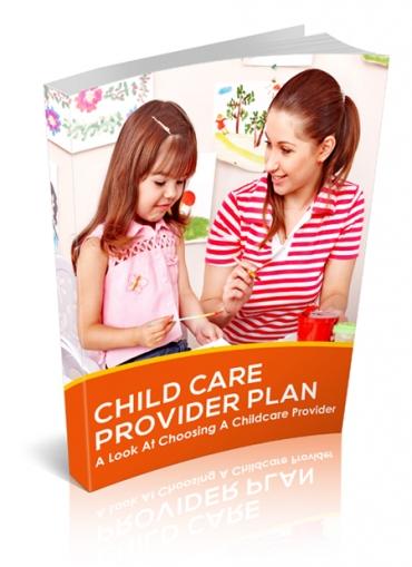 Child Care Provider Plan
