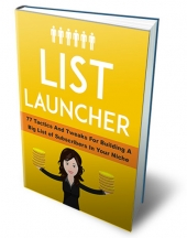 List Launcher Private Label Rights