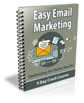 Easy Email Marketing Course Package Private Label Rights