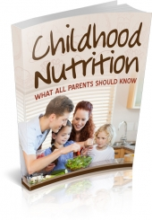 Childhood Nutrition Private Label Rights