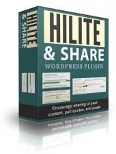 Hilite And Share WordPress Plugin Private Label Rights