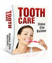 Tooth Care Video Site Builder Private Label Rights