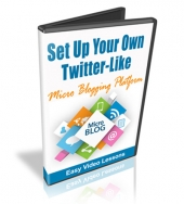 Set Up A Twitter-Like Micro-Blog Private Label Rights