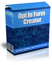 Opt In Form Creator Private Label Rights